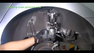 G-scan 2012 Hyundai Grandeur EPB pad change mode (Before and After change) & Assembly Check