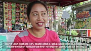 Dapat Gerobak Perindo, Heni Susilawati: Terima Kasih Pak Hary Tanoe