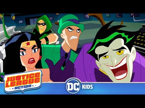 Justice League Action | Solving Riddles | DC Kids