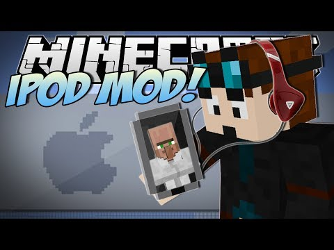 Minecraft   iPOD MOD! (Apps. Explosions & More!)   Mod Showcase