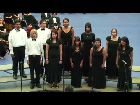 1080p The Lion Sleeps Tonight: 2009-2010 Moanalua High School Concert Choir