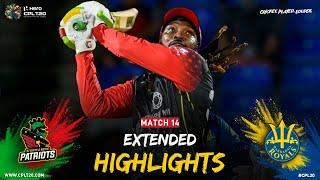 Extended Highlights   St Kitts & Nevis Patriots vs Barbados Royals   CPL 2021
