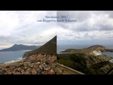 Sardinien17#5 Strecke Buggerru-Capo Malfatano-Solanas