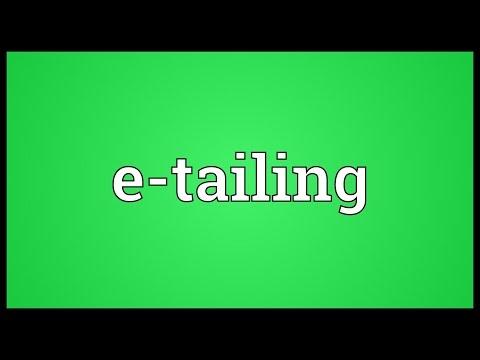 Header of e-tailing