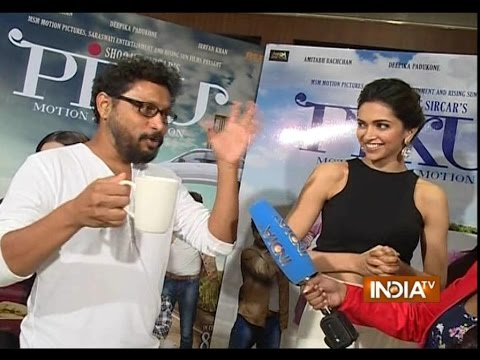 Deepika Padukone and Sujit Sarkar talk about their new movie 'Piku'