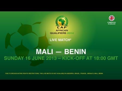 Mali 2 - 2 Benin | CAF African Qualifiers 2014 | 16.06.2013