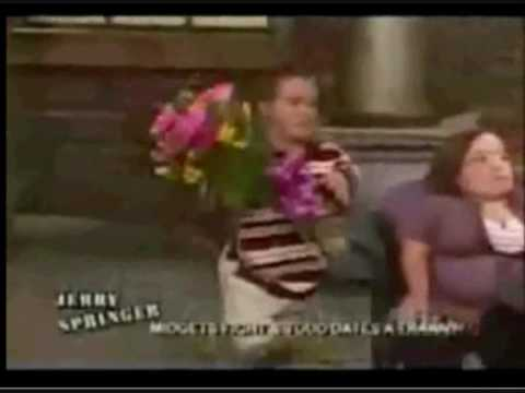 Naked fight on jerry springer consider, that