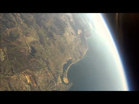 HD High Altitude Balloon JHAB2 Lost in Space...