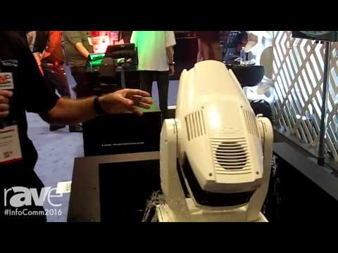 InfoComm 2016: SGM Exhibits G-Spot LED Moving Head Light