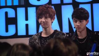 【COVERBOY】120417 chanyeol 門板