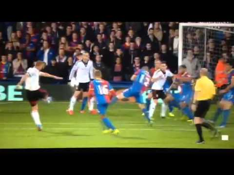 Steve Sidwell's quality goal vs Crystal Palace 21/10/13