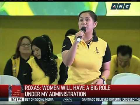 Kris Aquino campaigns for Roxas-Robredo