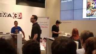 Nerd Quiz mit Eddy und Budi (GameOne) - Gamescom 2012
