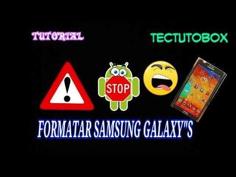 Reset(formatar) Samsung Galaxy (Y,Y'TV,Y'DUOS,ACE,SII,SIII)