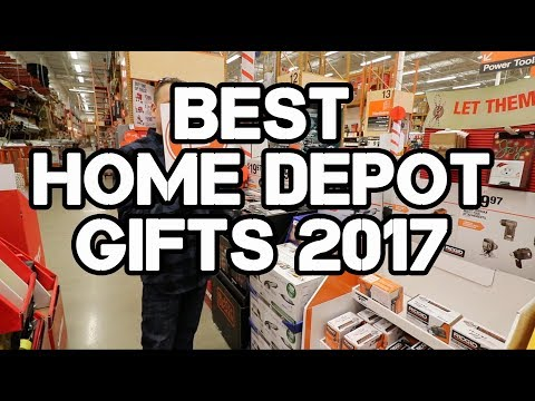 Home Depot GIft Center Tour - Top Gifts for 2017