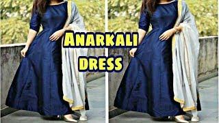 Designer Anarkali dress/kaliyo wali dress/frock suit cutting & stitching