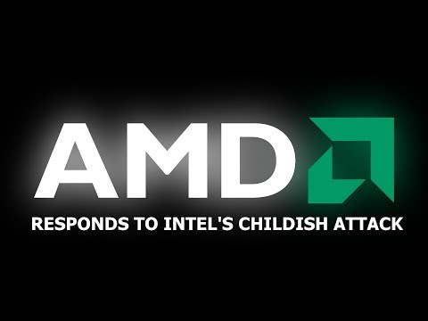 AMD RESPONDS TO INTEL'S CHILDISH AND UNDIGNIFIED ATTACK ON EPYC