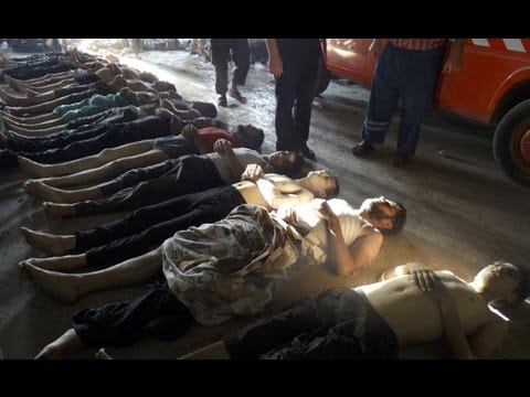 Poison Gas Attack In Syria [GRAPHIC]
