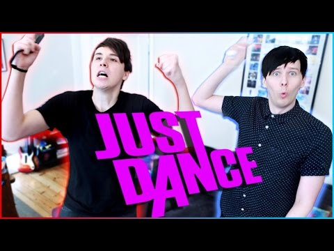 Dan and Phil play JUST DANCE