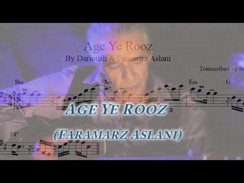 Age Ye Rooz Beri Safar (Faramarz Aslani)...