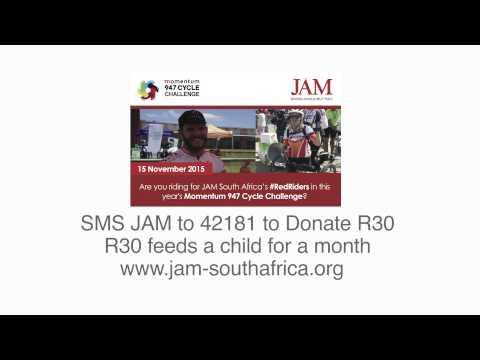 JAM South Africa Red Rider, Isak Pretorius', 947 Radio Interview!