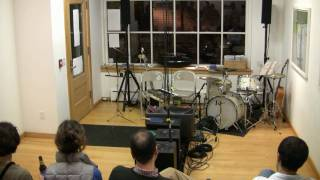Dartmouth Contemporary Music Lab: Pendulum Music by Steve Reich