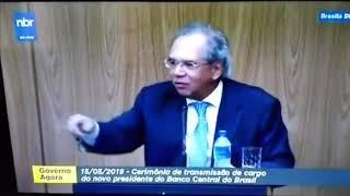 Descentralização de recursos. Com a palavra o Ministro da Economia Paulo Guedes.