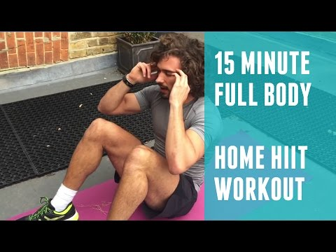 Full Body Fat Burning Home HIIT | The Body Coach