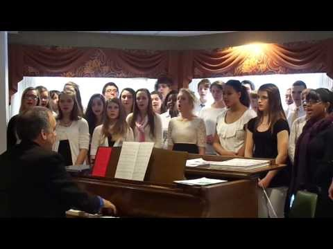 Finney High School Choir Sings River Carol
