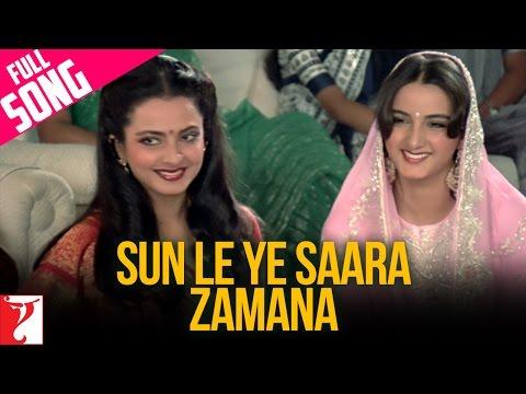 Sun Le Ye Saara Zamana - Full Song - Faasle