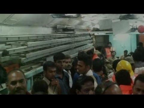 2 Passenger Trains Derail in Madhya Pradesh, 15 Bogies Fall in River