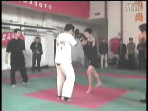Kyokushin Karate vs Sanda --- MMA fight Image 1