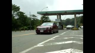 Cadillac CTS 3.6L Custom Exhaust Kakimoto racing Jpan and K&N air intake sound