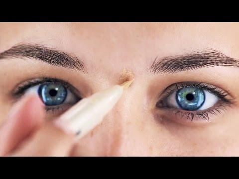 Основы макияжа. Как правильно наносить корректор для лица. Как правильно наносить макияж.