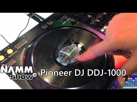 Namm 2018: a look at the Pioneer DJ DDJ-1000 Rekordbox Controller
