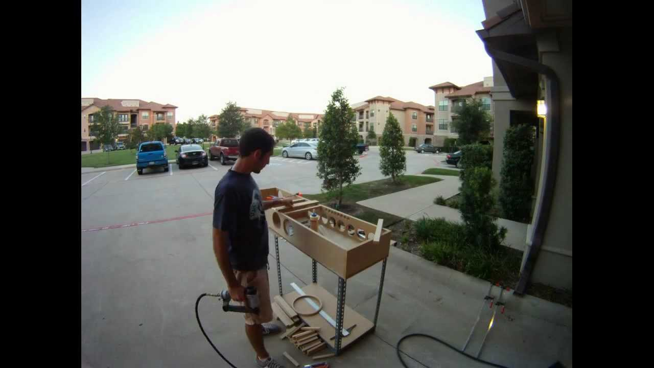 Building a Line Array - Time Lapse - YouTube