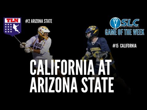 SLC Game of the Week: #15 California at #2 Arizona State