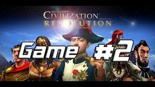 Let's Play Sid Meier's Civilization Revolution Multiplayer Game 2 (3-4)