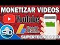 Como Monetizar Mis Vídeos en Youtube - Asociar Canal a Cuenta de Google AdSense