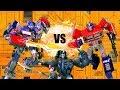 Transformers: Optimus VS Prime VS Optimus Primal!! Feat. EpicVoiceGuy | Toy Battle Stop Motion |
