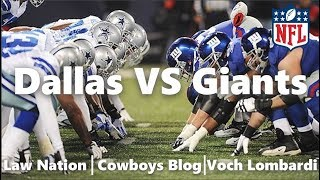 download lagu Dallas Cowboys Vs New York Giants Talk + Predictions gratis