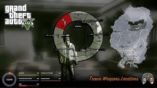 GTA V Thrown Weapons Locations