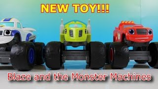 NEW BLAZE AND THE MONSTER MACHINES TOY BLAZE DARRINGTON ZEG