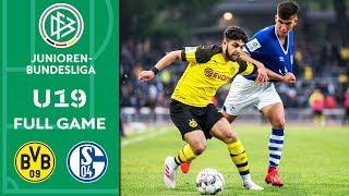 Borussia Dortmund vs Schalke 04 2-0   Full Game   U19 Bundesliga   Semi Final   2nd Leg