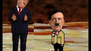 Trump vs Adolf Hitler (Mugen)