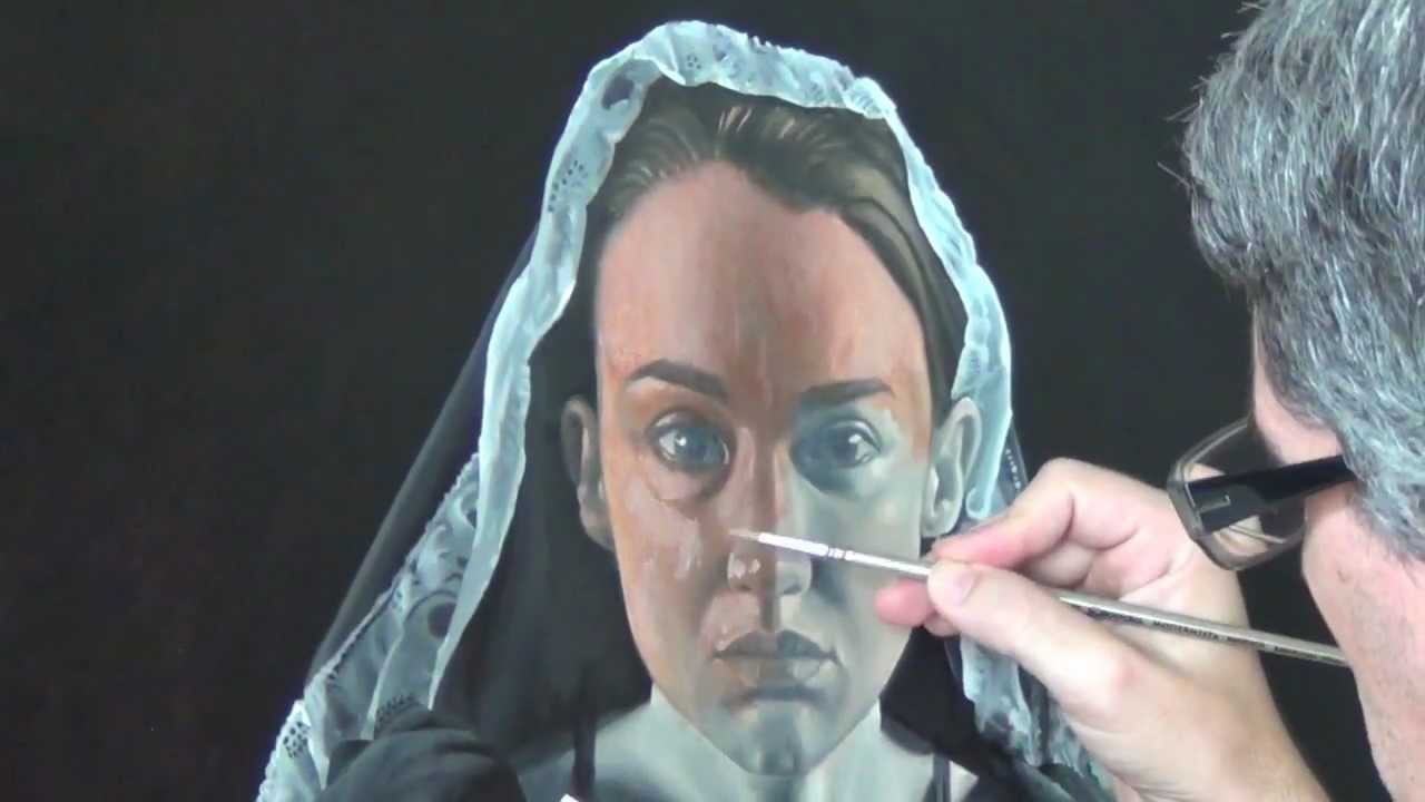 Glazing Oil Painting