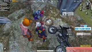 [Hindi]PUBG MOBILE | NOOB RUSH GAME PLAY WITH FULL MASTI | SUBSCRIBE ND JOIN ME