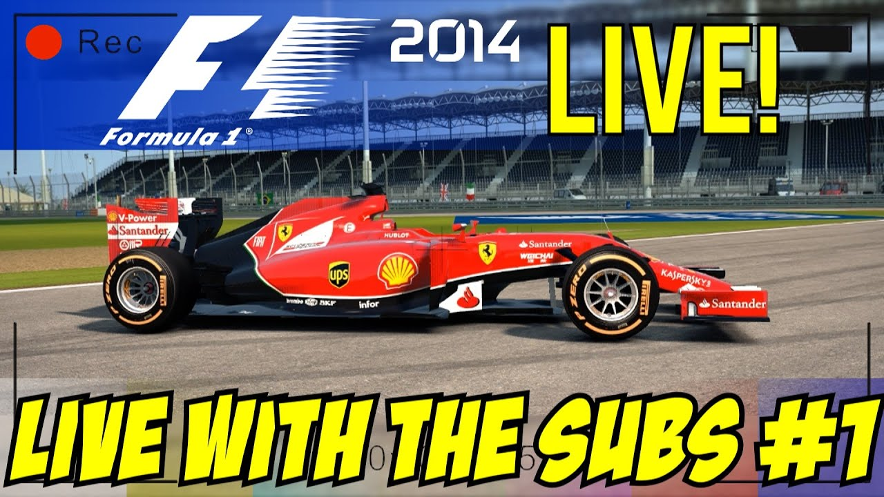 formula one live stream