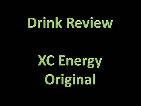Drink Review - XC: Energy (Original)
