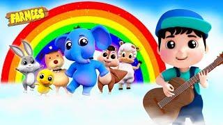 Rainbow Colors Song | Baby Songs &  More Nursery Rhymes | Kids Cartoon Videos
